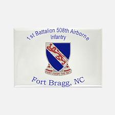 1st Bn 508th ABN Rectangle Magnet
