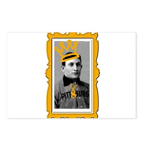 Honus Wagner Baseball Card Postcards (Package of 8