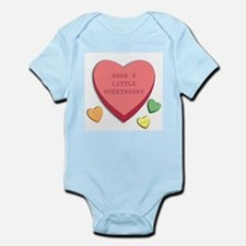 """Nana's's Little Sweetheart"" Infant Creeper"