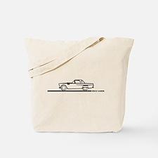 1956 Thunderbierd Hard Top Tote Bag