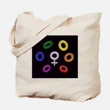 Venus by Multi Rings Tote Bag