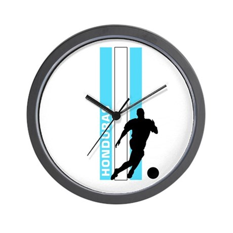 HONDURAS FUTBOL 3 Wall Clock