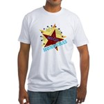 HONDURAS FUTBOL 4 Fitted T-Shirt