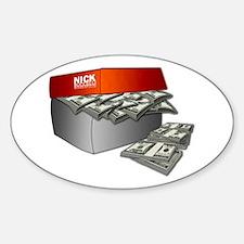 Shoe Box Cash Money Decal