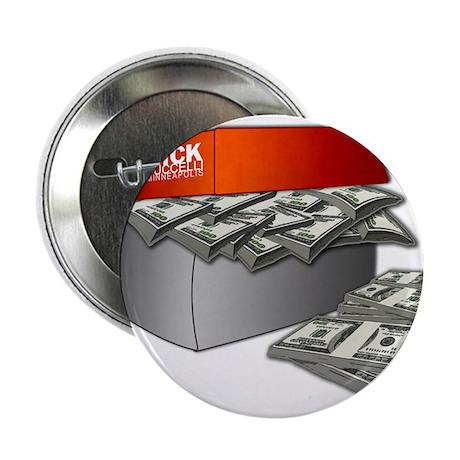 """Shoe Box Cash Money 2.25"""" Button (100 pack)"""