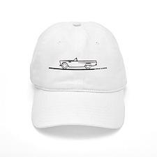1955 Thunderbird Convertible Baseball Cap
