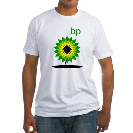 BP Oil... Slick Fitted T-Shirt