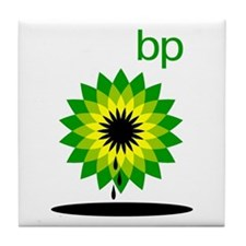 BP Oil... Slick Tile Coaster