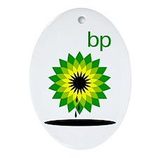 BP Oil... Slick Ornament (Oval)
