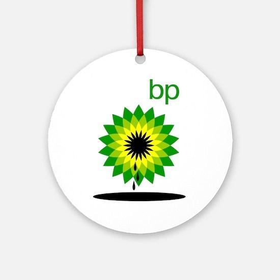 BP Oil... Slick Ornament (Round)