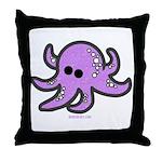lil octopus Throw Pillow