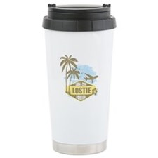 LOST - Lostie yellow Travel Coffee Mug