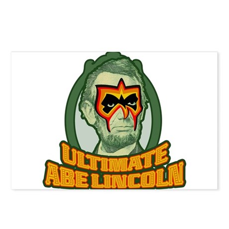 Ultimate Abe Lincoln Postcards (Package of 8)