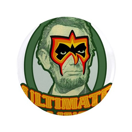 """Ultimate Abe Lincoln 3.5"""" Button (100 pack)"""