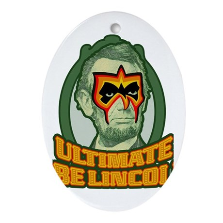 Ultimate Abe Lincoln Ornament (Oval)