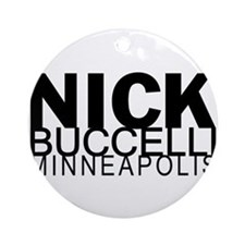 Nick Buccelli Minneapolis Ornament (Round)