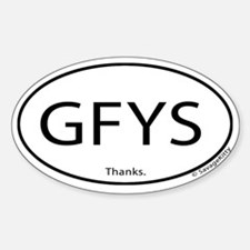 GFYS Decal