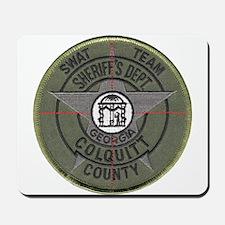 Colquitt Sheriff SWAT Mousepad