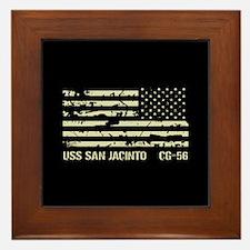 USS San Jacinto Framed Tile