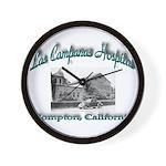 Las Campanas Hospital Wall Clock