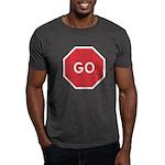 GO! Black T-Shirt