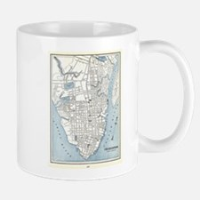 Vintage Map of Charleston South Carolina (189 Mugs