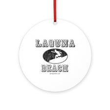 Laguna Beach ~  Ornament (Round)