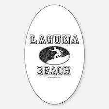 Laguna Beach ~ Oval Decal