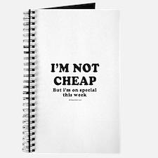 I'm not cheap ~ Journal