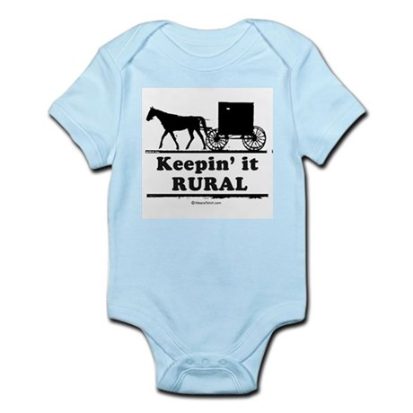Keepin' it rural ~ Infant Creeper