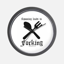 Spooning leads to forking ~  Wall Clock