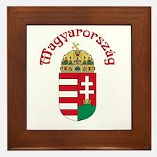 Hungary Framed Tile