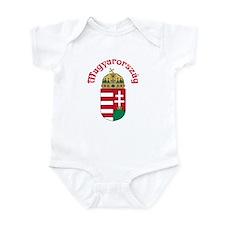 Hungary Infant Bodysuit