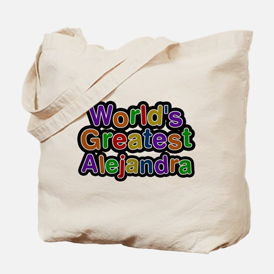 Worlds Greatest Alejandra Tote Bag