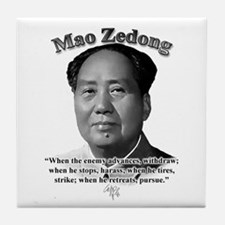 Mao Zedong 01 Tile Coaster
