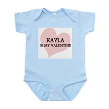 Kayla Is My Valentine Infant Creeper