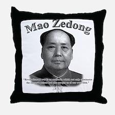 Mao Zedong 02 Throw Pillow