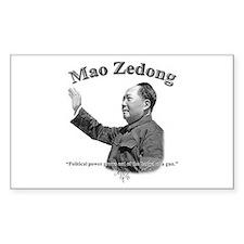 Mao Zedong 03 Rectangle Decal
