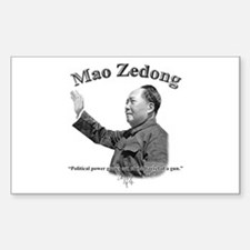Mao Zedong 03 Rectangle Decal