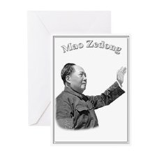 Mao Zedong 03 Greeting Cards (Pk of 10)