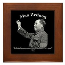 Mao Zedong 03 Framed Tile