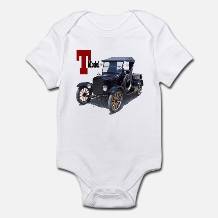 Cute Truck farming Infant Bodysuit