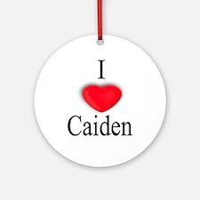 Caiden Ornament (Round)