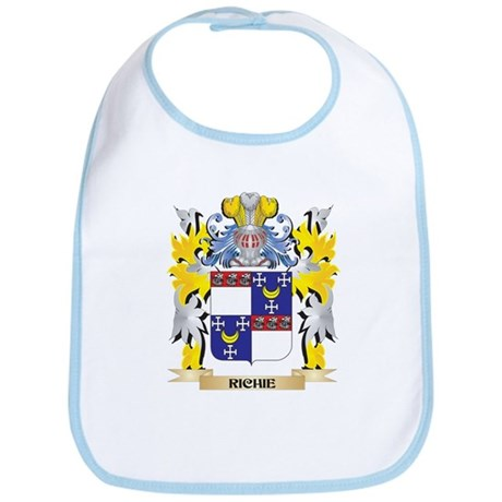 Richie Family Crest - Coat of Arms Baby Bib