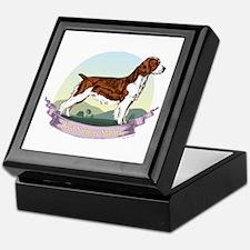 Welsh Springer Spaniel: Banne Keepsake Box