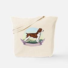 Welsh Springer Spaniel: Banne Tote Bag