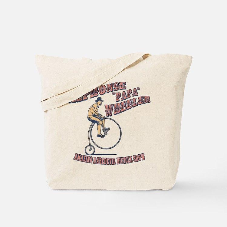Papa Wheeler Tote Bag