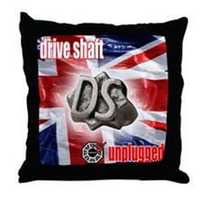 Drive Shaft Unplugged Throw Pillow