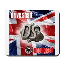 Drive Shaft Unplugged Mousepad
