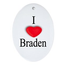 Braden Oval Ornament